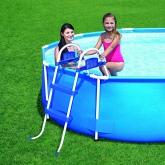 Escalera para piscinas de hasta 76 cm de altura