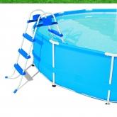 Escalera para piscinas de hasta 91 cm de altura