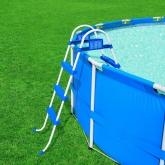 Scaletta piscina altezza 107 cm