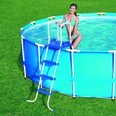 Escalera para piscinas de hasta 122 cm de altura