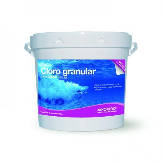 Cloro granular de disolución lenta, 5 kg