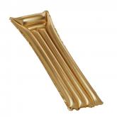 Colchão insuflável dourado