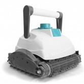 Robô limpafundos E-Bot com rolo de PVC