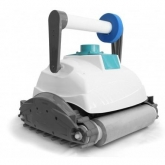 Robô limpafundos E-Bot com rolo de espuma