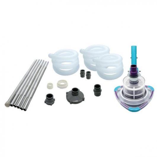 Kit complet pour nettoyage de piscine
