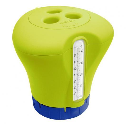 Dispensador de cloro con termómetro