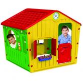 Casa para niños estilo pueblo