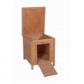 Lisbon wooden rabbit hutch