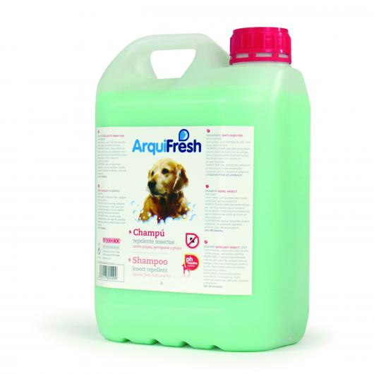 Shampooing anti-insectes pour chiens, 5 L