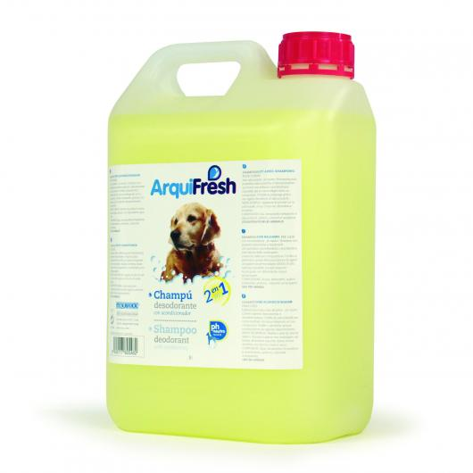 Shampooing conditionneur 2 en 1 pour chiens, 5 L