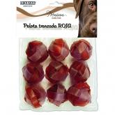 Palla Cani Rossa Intrecciata, 9 unità