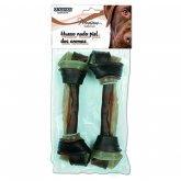 Large bacon-flavour dog bone 2pc