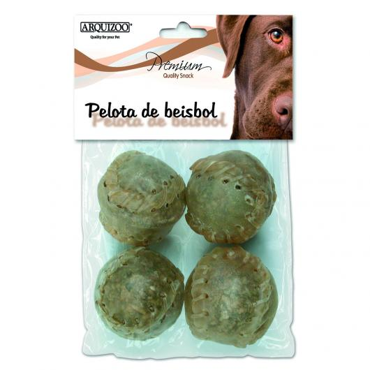 Balle de base-ball pour chiens, 4 pièces