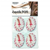 Zapatilla Roja 4 ud