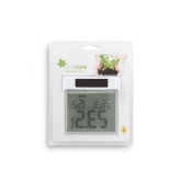 Termómetro digital solar máximo e mínimo