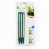 Medidor de água para plantas