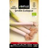 Semillas ecológicas de  Puerro grueso Carentan 3