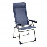 Cadeira multiposições alumínio Azul Crespo