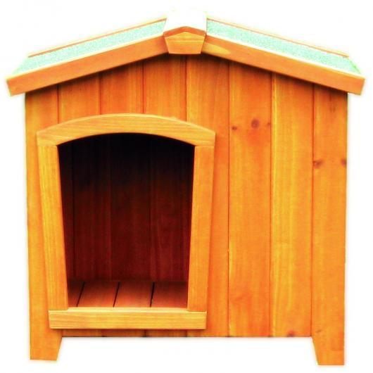 Caseta perro madera por 89 50 en planeta huerto for Casetas de huerto