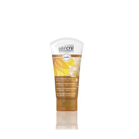Crema Facial Autobronceadora Lavera, 50 ml