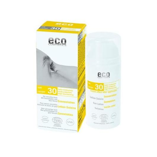 Loción Solar FPS 30 EcoCosmetics, 100 ml