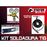 Kit Soldadura con Antorcha Manoreductor y Electródos 3/8