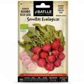 Semi biologici di Ravanello tondo rosso saxa
