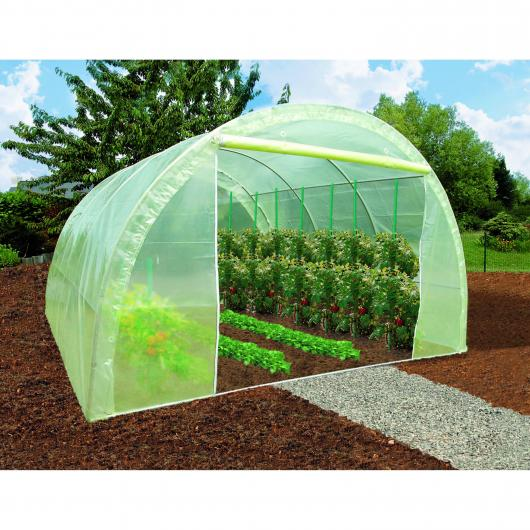 Invernadero tunel por 449 00 en planeta huerto for Invernaderos para jardin