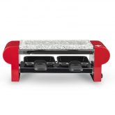 Raclette com pedra natural para 2 pessoas H.Koenig