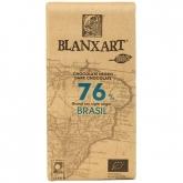 Chocolate negro Brasil 76% Blanxart, 125 g