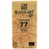 Chocolate negro Peru 77% Blanxart, 125 g