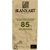 Chocolate negro Nicarágua 85% Blanxart, 125 g