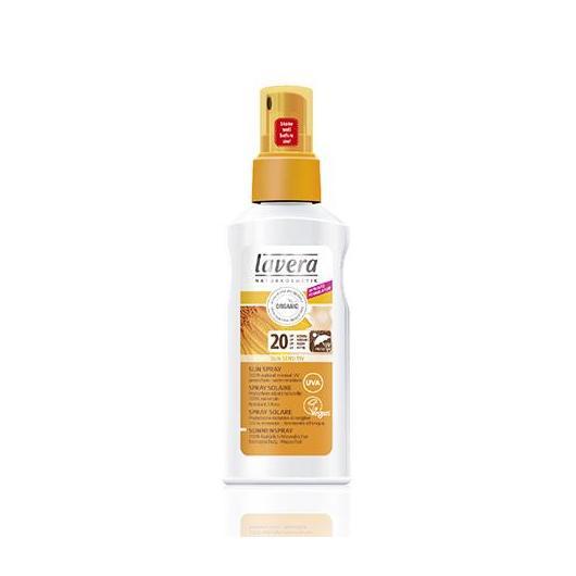 Spray solaire SPF 20 Lavera, 125 ml