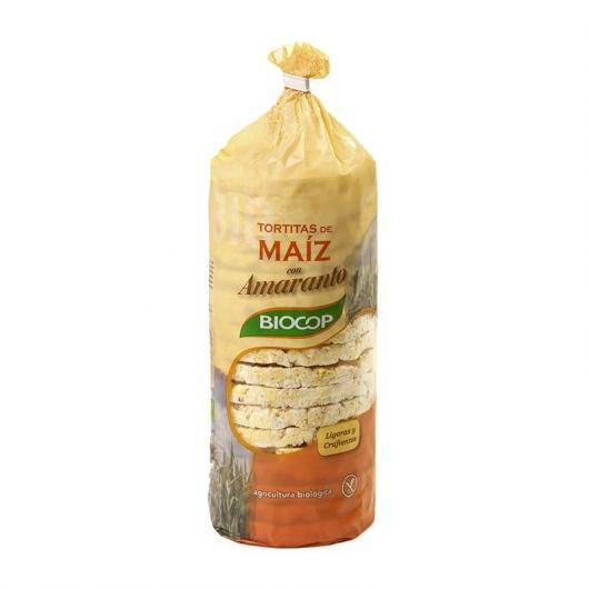 TORTITAS MAIZ Y AMARANTO BIOCOP, 130 G