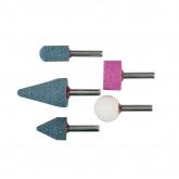 Set di 5 punte abrasive in ceramica KWB per trapano