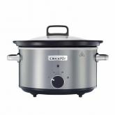 Crock Pot panela de cozedura lenta 3,5 L CSC028X cinzenta