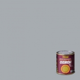Esmalte antioxidante liso brilhante para metal Titan Oxiron PRATA, 750 ml