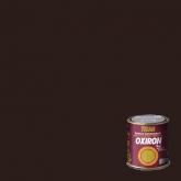 Esmalte anti-oxidante liso brilhante para metal Titan Oxiron TABACO, 750 ml