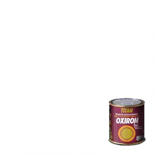 Peinture antioxydante lisse brillant pour métal Titan Oxiron BLANC