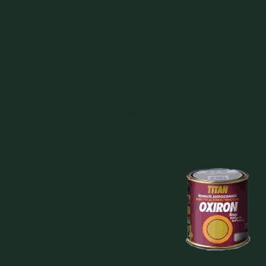 Peinture antioxydante lisse brillant pour métal Titan Oxiron VERT LISSE 750 ml