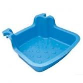 Lava piedi per scaletta piscina, blu chiaro