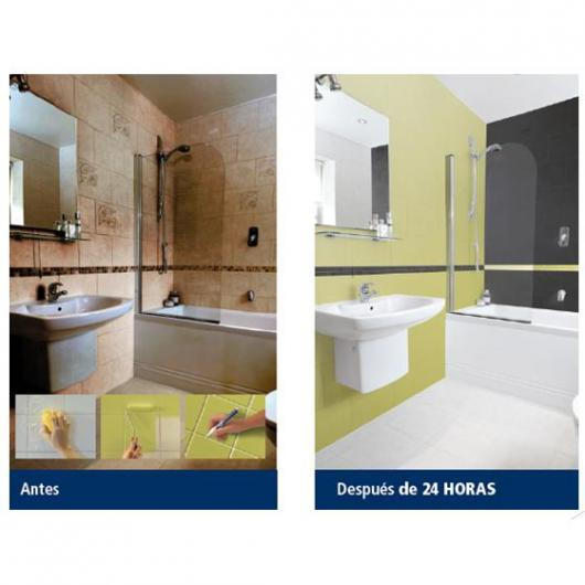 Pintura azulejos baño bruguer ~ dikidu.com