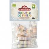 Rolinhos de frutas Natursoy, 75 g