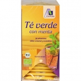 Chá verde com menta Avitale, 20 saquetas