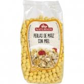 Pérolas de milho com mel Natursoy, 200 g