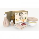 Kit cosmética caseira DIY Tratamentos Exfoliantes, Oleum Vera, Oleum Vera