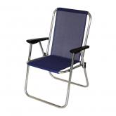 Cadeira de alumínio tecido multifibra, Taverball
