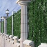 Cobertura artificial de folha fina 1,5 x 3 m