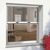Mosquiteira auto-enrolável para janelas 125 x 150 cm