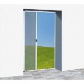 Mosquiteira auto-enrolável lateral branco para portas 150 x 220 cm